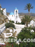 Grèce Photo: Superbe village de Ios